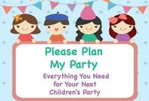 Kid's Party Themes / Need a party theme for your child's next birthday? Here are some popular ideas for kids of all ages!