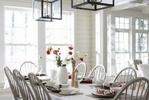 Eating Spaces {Dining Rooms and eating nooks}