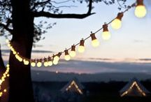 Camping & Glamping Ideas / Why go camping if you can go GLAMping?! A swag of festoons, a candle lantern or five and a lot of bunting... Make your tent the envy of all tents!