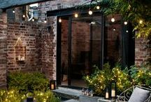 Courtyard Lighting Ideas / Courtyard crazy! Get your gleam on...