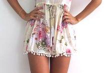 That Bohemian style / bohemian fashion, lace, fringe, cowgirl, frilly, feminine style!