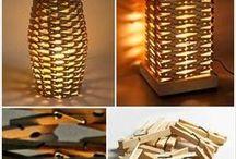 Ideen mit Holzklammern
