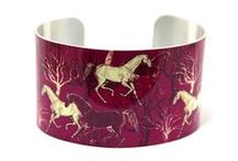 DeCumi Designs Cuff Bracelets / Modern aluminium cuff bracelets with nature inspired artwork. Hypoallergenic, waterproof, fade resistant and will fit most wrist sizes. Handcrafted in Northumberland UK