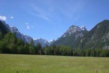 The Radovna Valley / The 16km cycle route through the Radovna valley