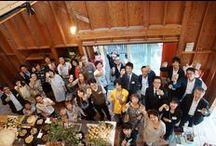 2014.09.26 レセプションパーティー / 日頃お世話になっている方々をお招きし、STUDIO U・STYLEのレセプションパーティーを行いました。お料理はフードユニットDAIDOCOさんです。