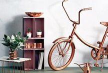 TREND | COLOUR COPPER ORANGE / Copper - Orange - Metalen - Verweerde look - Industrieel