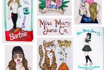 ❤ Accessories! ❤ / Miss Mary Jane stickers, Bud Suds Soaps, and other accessories you can find at www.missmaryjaneco.com