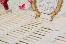 Wedding Escort Card and Seating Chart Ideas / Escort Cards and Seating Charts