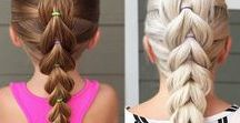 Little Family of 3 | Toddler hairstyles / toddler hairstyles, kapsels meisjes, kapsels