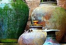 Pottery Art (Wheel Throwing & Hand Building) / by Karen Wanklyn