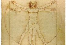 Leonardo Da Vinci / Beauty perishes in life, but is immortal in art.  Leonardo Da Vinci