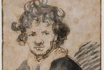 "Rembrandt /   Rembrandt gave me always new surprises of art. He is the great human element of the infinity of our ecstasy, he gave the moral life to the shade. He created the clair-obscur like Phidias did the line. And all the mysteries comprises in the modeling are from now on possible only by him, for the new cycle of art he opened out of the pagan reason "".  Odilon Redon"