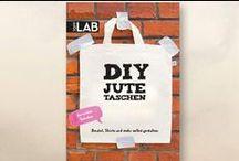 DIY Jutetaschen / Beutel, Shirts und mehr selbst gestalten