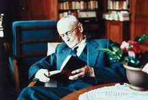"""Hermann Hesse /  """"When we have learned how to listen to trees, then the brevity and the quickness and the childlike hastiness of our thoughts achieve an incomparable joy."""" —  For Hermann Hesse"""