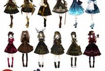 ❧ Ḑℴℒℒṩ &,†Իᾰşℌ, ḓᾰԻк, кᾰωᾰἲḭ  ❧ / Le dolls kawaii ma non solo, anche un trip mix molto dark , very strong , kawaii e non solo Kitty