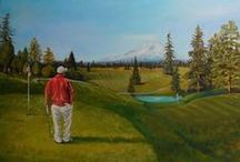 Landscape Paintings by Elaine / Trees and landscapes
