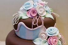 Mooie creaties taart / gepind van andere mensen.
