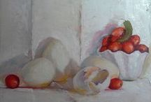 Still Life / This board is to show all my still life paintings.