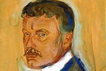 """Edvard Munch /  """"From my rotting body, flowers shall grow and I am in them and that is eternity."""" —  Edvard Munch"""