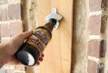 Beer-Related DIY Projects / Looking for a weekend project that you can do while enjoying a cold one? Here are some beer-related DIY projects, no pros required.