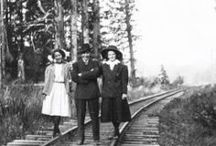 Railroad History / History of the IR&N's 'Clamshell Railroad' that ran along the historic 'North Beach Peninsula' for 41 years.