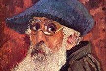 """Camille Pissarro / """"Peignez généreusement et sans hésitations pour garder la fraîcheur de la première impression. Ne vous laissez pas intimider par la nature, au risque d'être déçu du résultat."""""""