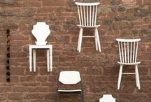 Rustic + Vintage Chairs for Hire   Wedding / For hire - these gorgeous chairs are perfect for discerning brides wanting to ditch those ugly banquet chairs. From white mis-match chairs, chapel style ceremony chairs and industrial school chairs- have a browse of our collection and get in touch