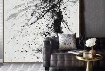 Minimalist Painting / hand painted minimalist painting on canvas, large minimal art from CZ ART DESIGN