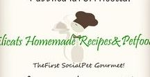 Elicats.com SocialPet Recipes&Petfood / The first SocialPet Gourmet! Homemade Recipes Petfood - Sign Up! Edit! View! Publish!