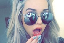 With Cool Sunglasses