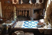 Walker Homestead~ / Antiques, primitives, heirloom gardens, plants, herbs, 1698 saltbox, Brookfield MA / by Kris Casucci