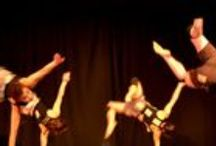 Survivor  / Secondary Schools Show. Premiered 2010. This explosive dance theatre show explores how basic instinct drives us all as we negotiate our place in the pecking order. We use virtuoso partnering and impressive physicality to take you on a wild ride through evolution!