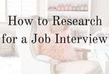 Interview tips / You can never be too well prepared for your job interview. We have collected some of the best tips and ideas to help get yourself ready.