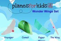 Wonder Wings Kit / The amazing gliders in the WonderWings kit.