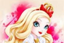 EVER AFTER HIGH / bonecas ever after :)
