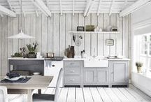 30 of the best country kitchens / It's Country Homes & Interior's 30th birthday in 2016! To celebrate, we've shortlisted our top 30 all-time favourite country kitchens to inspire you. We are lucky to be able to see a whole range of wonderful kitchen designs, from beautiful cabinetry and clever storage solutions to stunning colours and architecturally breathtaking locations, but these really stood out from the crowd...