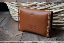 MEN - Leather Project / Leather Bag, Leather Wallet, Pattern