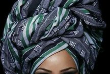 African prints +head wraps