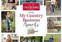 My Country Business Awards 2015 / Meet the 2015 Country Homes & Interiors My Country Business Awards winners