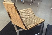 Strip Panel Bamboo Chair / Strip Panel Bamboo Chair (On-going)
