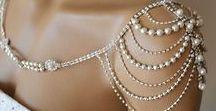 Jewelry-Inspired Wedding Dresses
