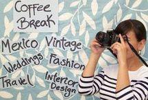 Blog / Coffee Break blog mexicano de estilo de vida, moda y viajes en este tablero les comparto eventos a los que asisto, concursos en l blog y prensa en general