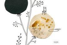 ▲ my work ▲ mes illustrations / mes illustrations (aquarelle, encre, collages), mes recherches personnelles, mes parutions...