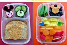 Bento Boxes & Kids' Lunches / Bento boxes are perfect for feeding toddlers and for portion control. Here are some cute ones!