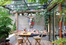 Terrazas / Beautiful outdoor spaces, wood, plants and ideas for terraces
