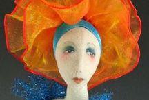 dolls art / by Patricia Sprague
