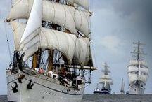 Navios .....a escala y tamaño real / Navíos a escala y reales
