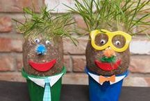 Spring Holidays, Crafts + More! / Fun kids arts and crafts, games, and activities for Easter, Passover and Spring!