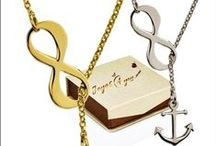 Joyas Infinito personalizadas / Infinity Jewelry / www.joyas4you.com / - Collar Infinito - Pulsera infinito - Anillo infinito