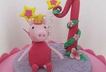 Cake Design: Peppa pig / Torte con la maialina più amata dai bambini e forse meno dai grandi: PeppaPig in cake design
